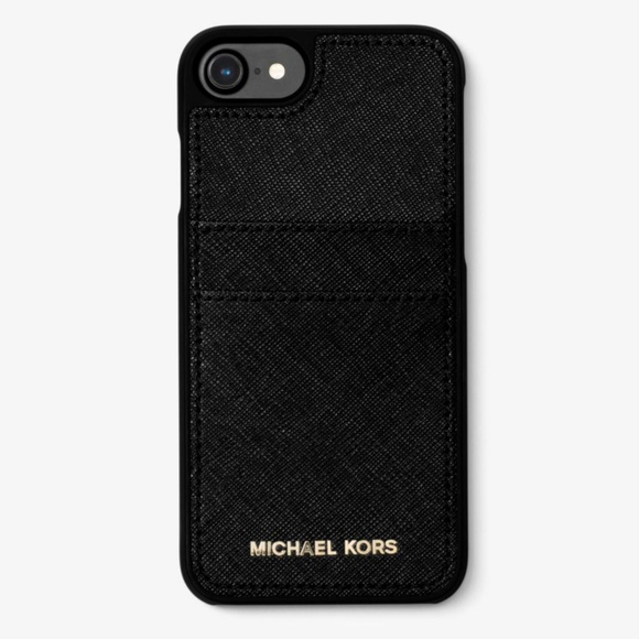 ab08d833c Michael Kors Accessories | Saffiano Leather Phone Case Iphone78 ...